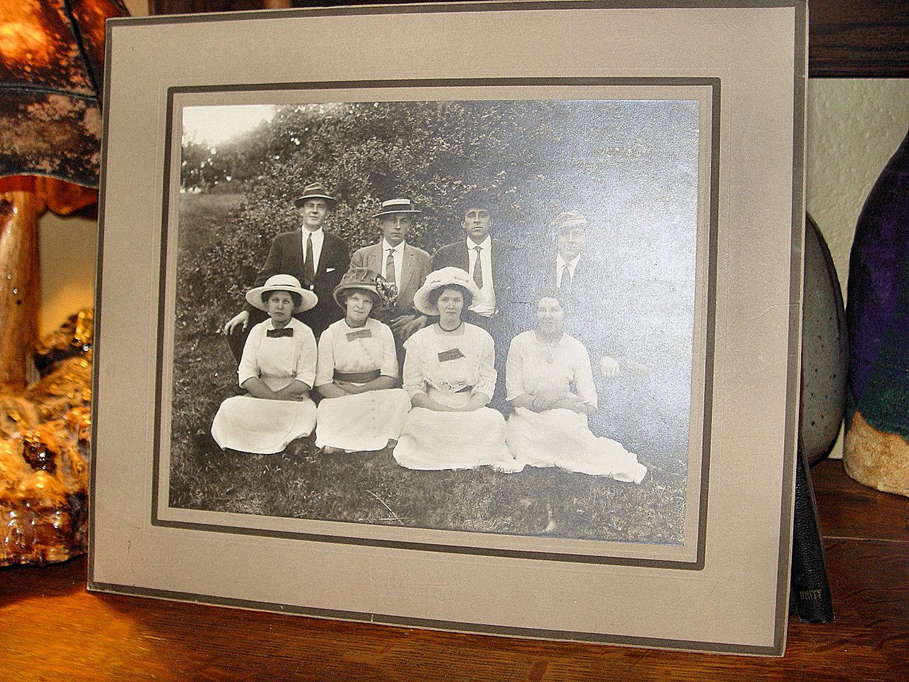 Carl                                                           Nordmark Lrg                                                           Cabinet                                                           Photograph                                                           Scandinavian                                                           Couples                                                           1911-1914