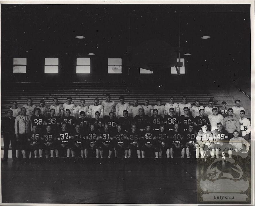 1950'S ? Bemidji                                                           MN State                                                           Teachers                                                           College                                                           Football Team                                                           and Head                                                           Coach