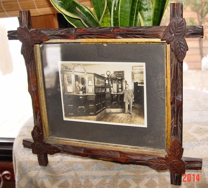 Original                                                           Cabinet photo                                                           Mathew Matt                                                           Parrett &                                                           Sons 1900s                                                           Bank Cashier /                                                           Teller                                                           Interior