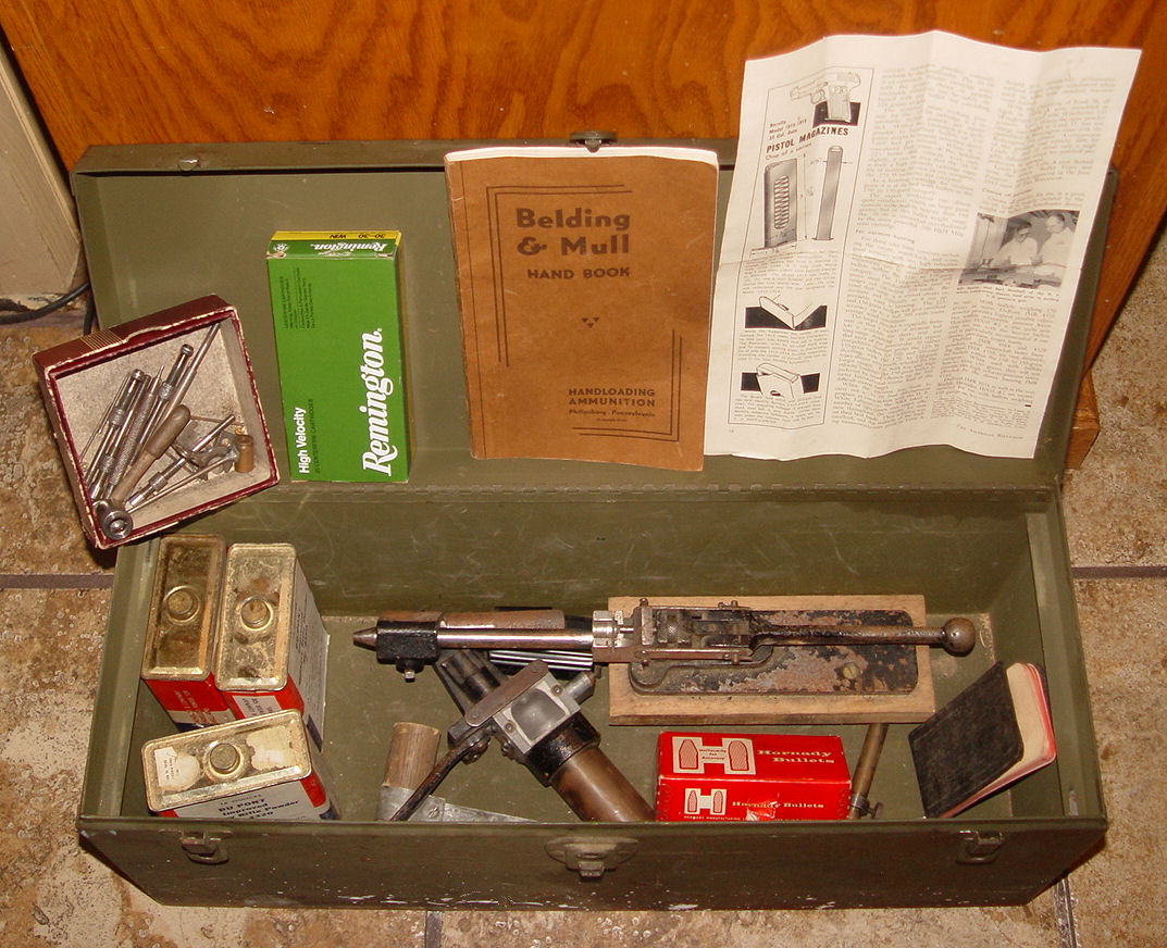 Vintage BULK                                         LOT: ReloadingEquipment, Shell                                         boxes, LymanIdeal, Ephemera,                                         WesternPrimers, Winchester,                                         Remington,Heavy Steel case and                                         muchmore.......