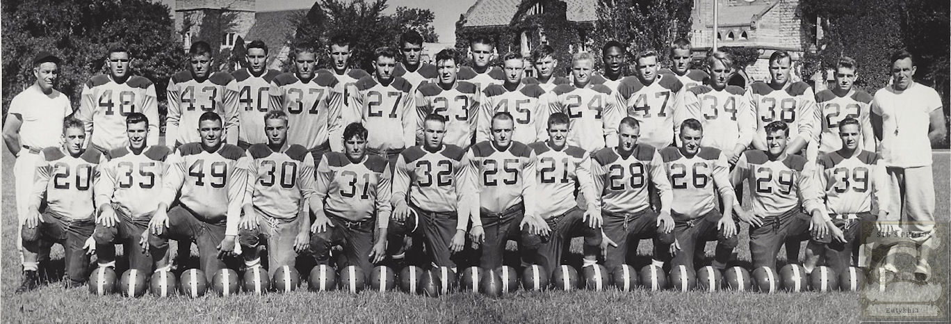 Original                                                           1930's                                                           photograph                                                           Faribault                                                           Minnesota                                                           Football team                                                           St. Mary                                                           Shattuck